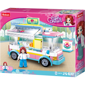 Sluban Girls Dream M38-B0797 Ambulance