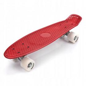 Pennyboard Meteor Red Ride