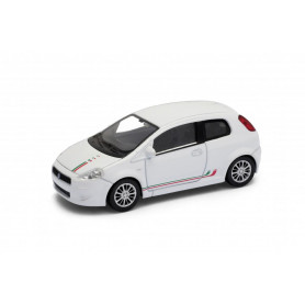 Welly - Fiat Grande Punto model 1:43  hnědá